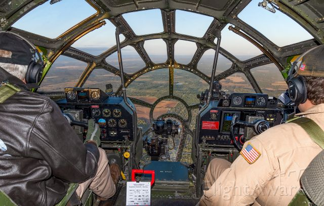 Boeing B-29 Superfortress (N529B) - Enroute from Fort Worth to Abilene in this incredible piece of history.