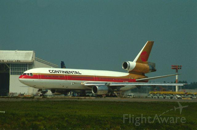 McDonnell Douglas DC-10 (N14063) - Departure at Narita Intl Airport Rwy34 on 1987/08/30