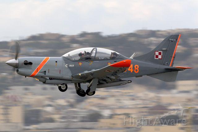 — — - Polish Air Force PZL-Okecie PZL-130TC-2 Turbo Orlik