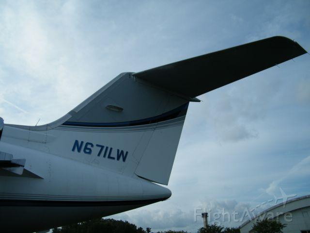 Gulfstream American Gulfstream 2 (N671LW) - Scrapping out.