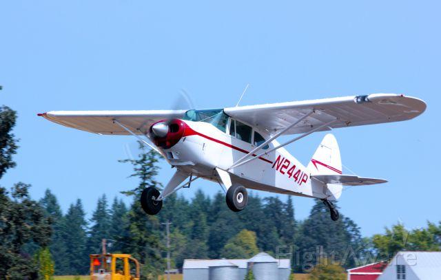 Piper PA-22 Tri-Pacer (N2441P) - 1955 PIPER PA-22-150.  8-11-12