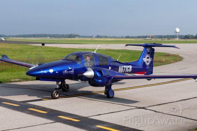 Diamond DA-62 (N671CB) - Multi Engine Training at Berichi Aviation 141 FAA Accredited Pilot School