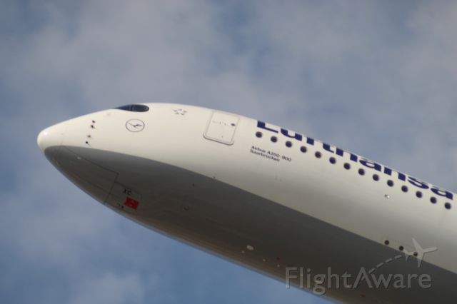 Airbus A350-900 (D-AIXC) - wasn't expecting this a350, only thought Iberia flew outhere with their's