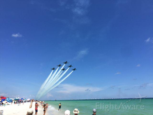 — — - Blue Angels, Pensacola Beach, Florida