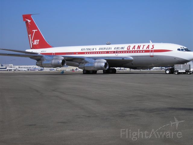 Boeing 707-100 (N707JT) - John Travolta
