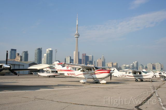 Cessna Skylane (N1184U) - Toronto City Island Airport August 08