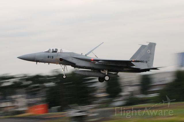 McDonnell Douglas F-15 Eagle (32-8819) - Nov.02.2016br /JASDF Iruna Air Base !!