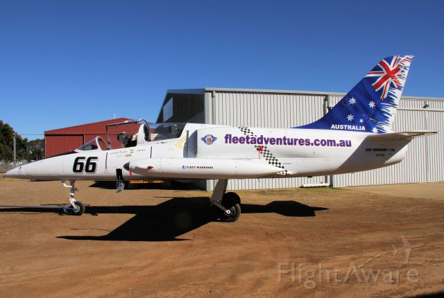 Aero L-39 Albatros (VH-FIS) - Aero Vodochody L-39C Albatross at Armidale NSW used for joy flights