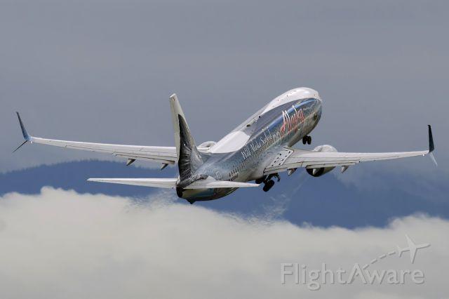 Boeing 737-800 (N559AS) - 18th Oct., 2014