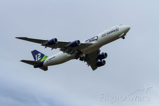 Boeing 747-200 (N770BA) - One more photo from the Boeing Everett, WA site rally.