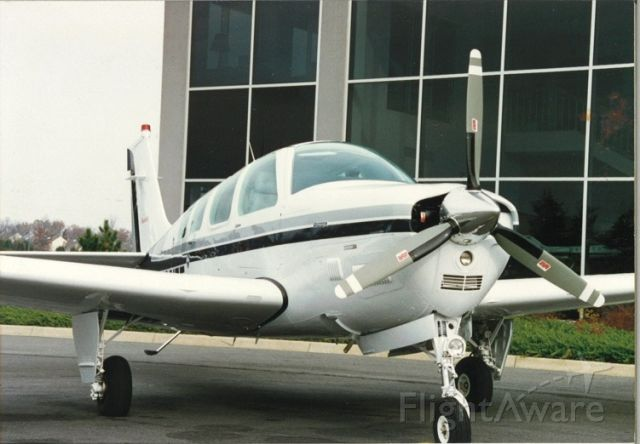 Beechcraft Bonanza (36) (N3217T) - I flew this Brand new Bonanza out of the Beech factory on  27 Oct 1995.  This pic was taken a week later after ~10-hours TT.  BEST airplane I have ever owned.   It is now in South Africa with its new owner.