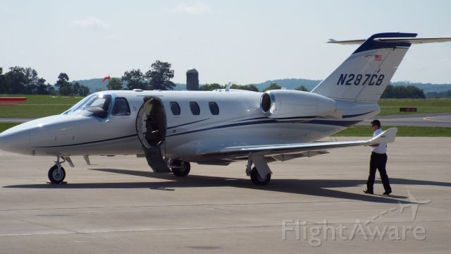 Cessna Citation CJ1 — - visiting Shelbyville, TN