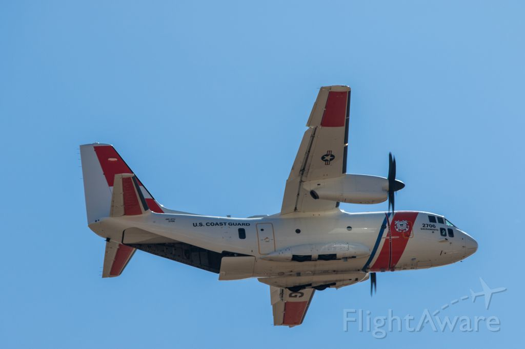 — — - Capitol Airshow 2016. The Coast Guards newest aircraft The Ocean Sentry.