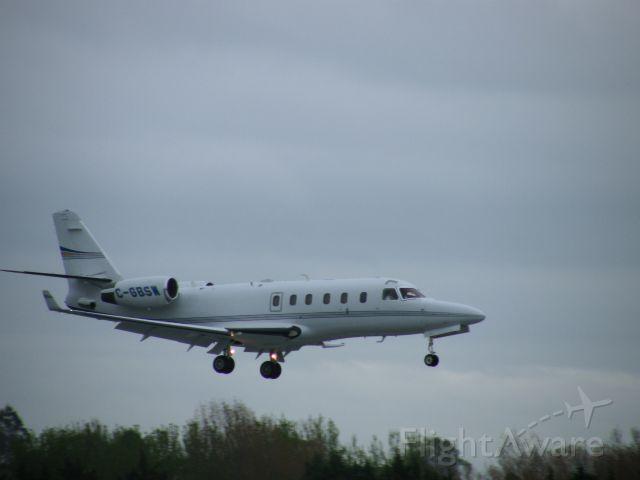 IAI Gulfstream G100 (C-GBSW) - C-GBSW IAI 1125 ASTRA SPX  CN 130 LANDING EINN 25-04-2008