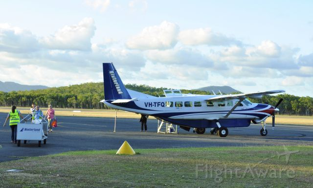 Cessna Caravan (VH-TFQ) - Hinterland Aviation Cessna 208B Grand Caravan VH-TFQ in Cooktown