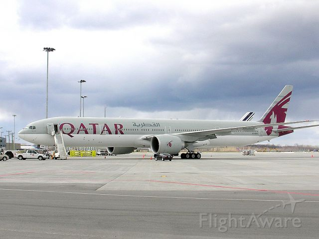 A7-BAK — - Parked...waiting for the night flight back to Doha
