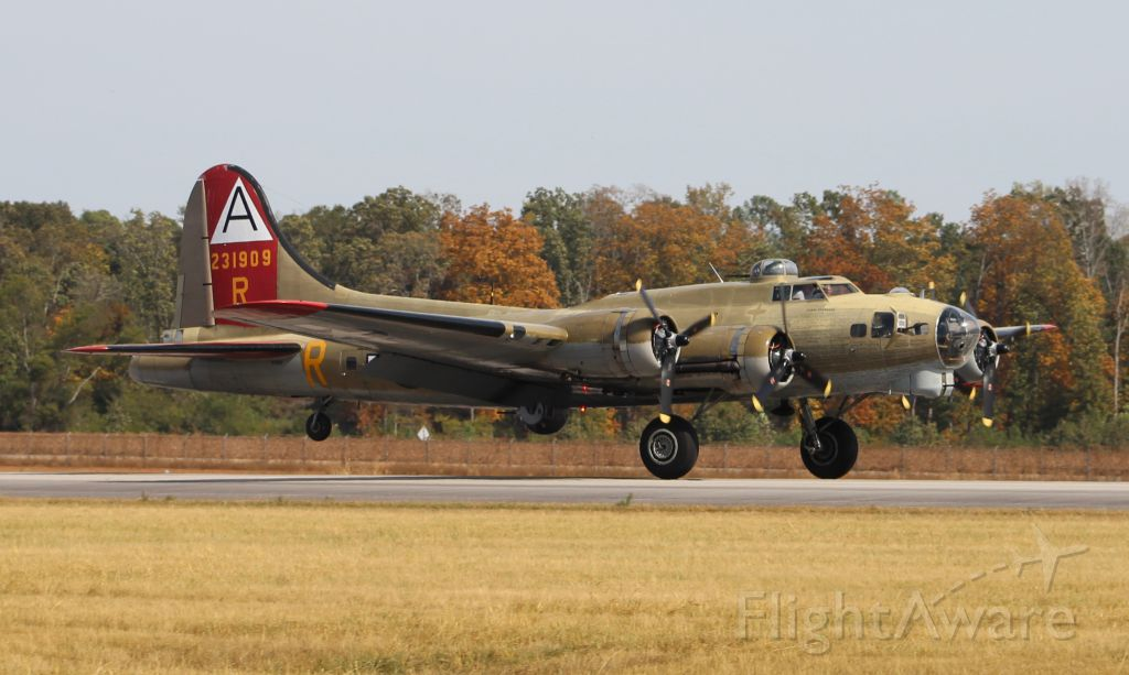 Boeing B-17 Flying Fortress (23-1909) - The Collings Foundation