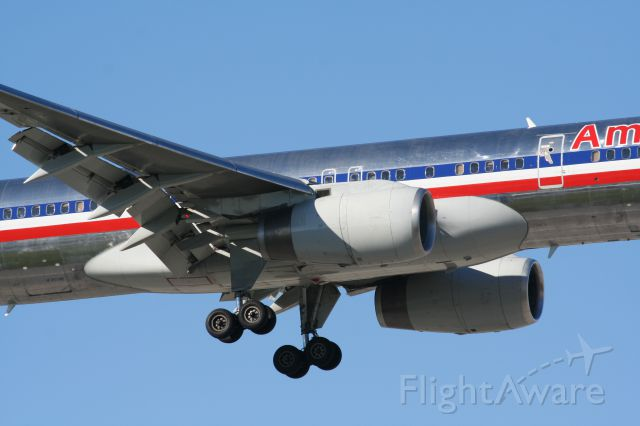 Boeing 757-200 — - Zoom into those powerful Rolls-Royce RB211 engines...