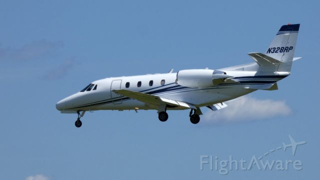Cessna Citation Excel/XLS (N328RP) - On final is this 2007 Cessna Citation Excel in the Summer of 2019.