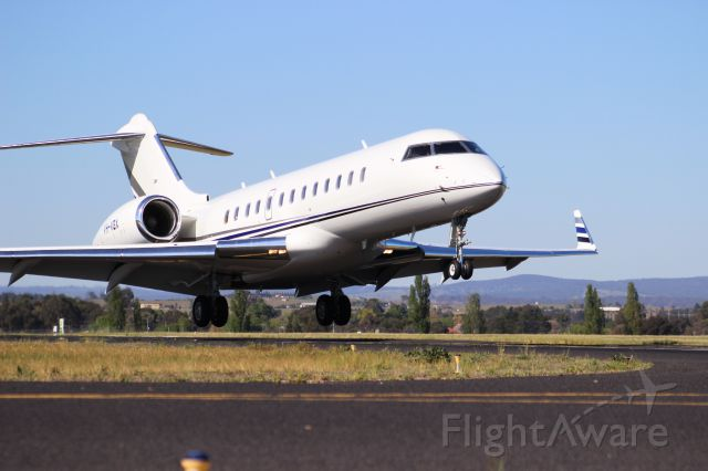 VH-VGX — - YBTH Bathurst - next to Runway 35 - aircaft arriving for Bathurst 1000 Races - October 2014