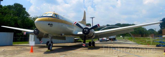MARTIN 404 (N40400) - Glen L. Martin Aviation Museum Martin 4-0-4 7/18/13