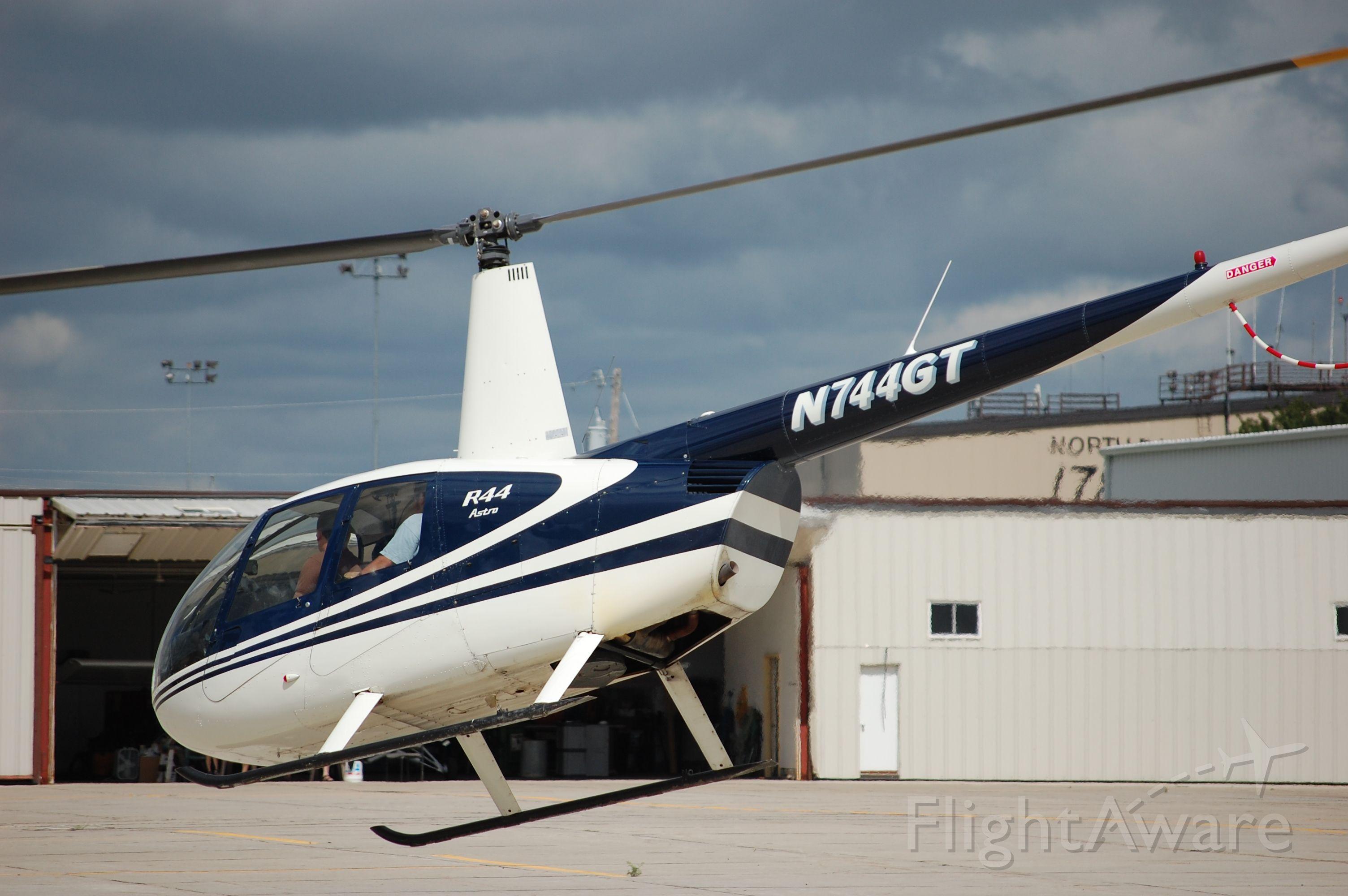Robinson R-44 (N744GT) - Robinson R44 giving rides at the Fargo air-show.