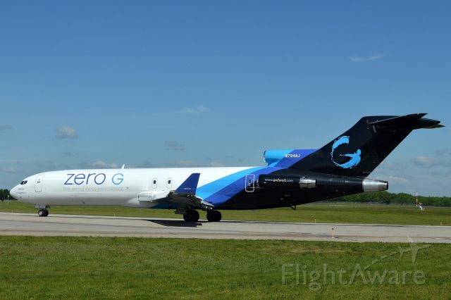N794AJ — - VTS 7715 going out on another zero G flight