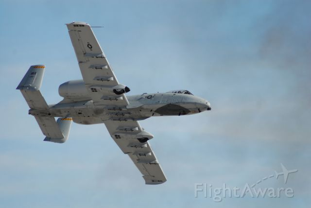 Fairchild-Republic Thunderbolt 2 — - An A-10 during a CAS demo at Aviation Nation 2017.