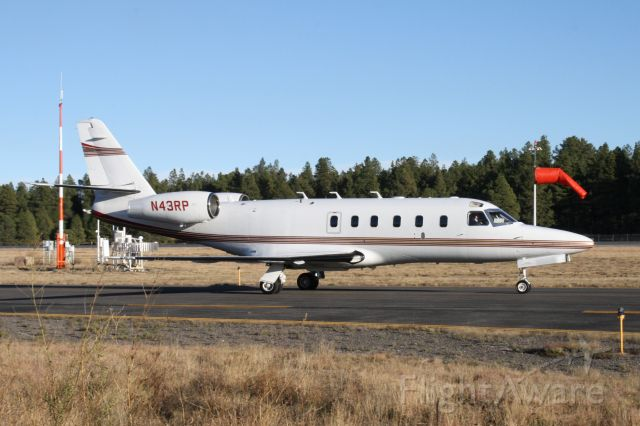 IAI Gulfstream G100 (N43RP) - Taxiing after landing at Flagstaff Pulliam Airport, October 31 2018.