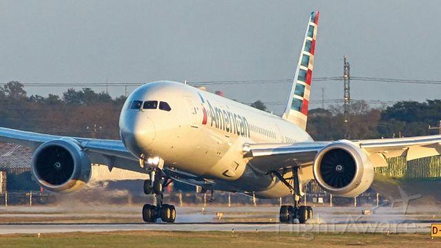 Boeing Dreamliner (Srs.8) (N803AL) - 31L arrival.<br />Jan.30,2021