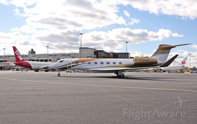 Gulfstream Aerospace Gulfstream G650 (N721MM)