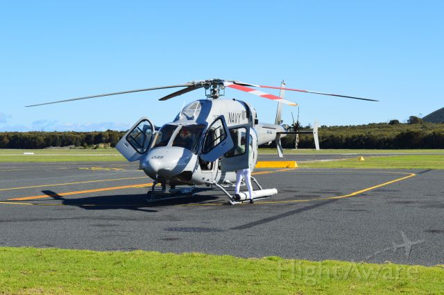 Bell 429 GlobalRanger (N49048) - N49-048 about to depart for East Sale March 2016
