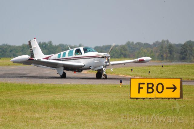 Beechcraft Bonanza (36) (N1116A) - Heading into Wilson Air Center