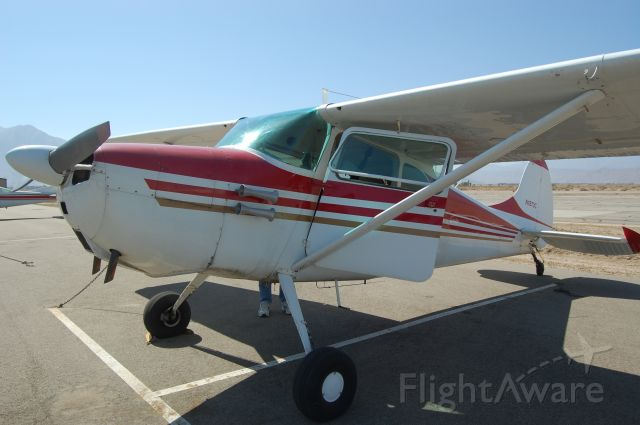 Cessna 170 (N1873C) - Borrego Springs on a windy afternoon