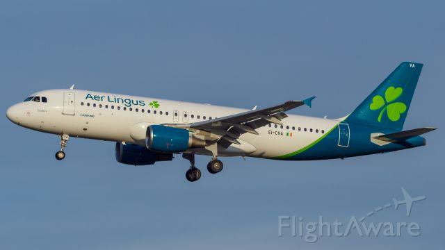 Airbus A320 (EI-CVA) - New livery