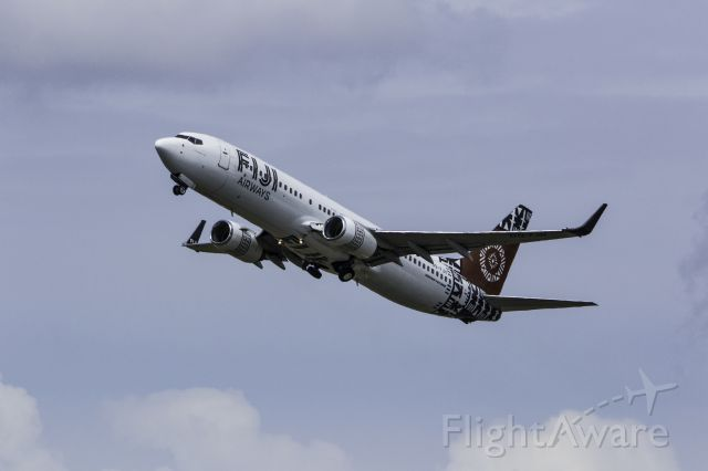Boeing 737-800 (DQ-FJH) - Taken from the Northern end of the runway