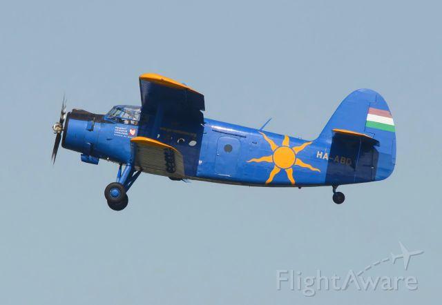Antonov An-2 (HA-ABD) - 03/08/2014br /Take-off 21br /HOP/TOUR 2014