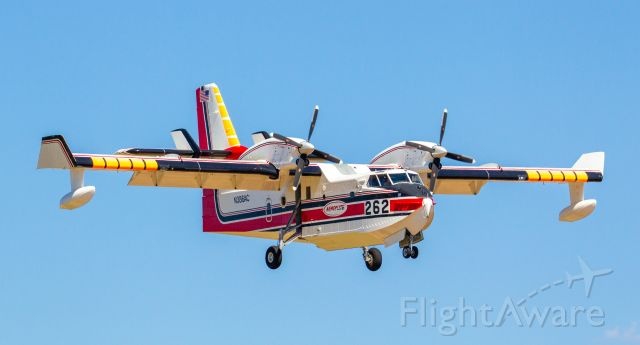 Canadair CL-415 SuperScooper (N386AC) - Spotted at KSDL August 31, 2020