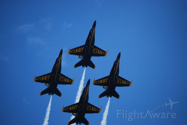 — — - Westmoreland Air Show 2017 at Arnold Palmer Regional Airport in Latrobe, PA.br /Blue Angels.
