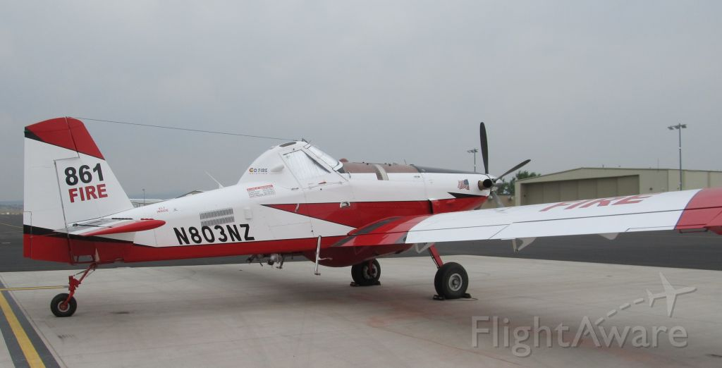 AIR TRACTOR Fire Boss (N803NZ) - Rifle (KRIL) Single Engine Airtanker Base