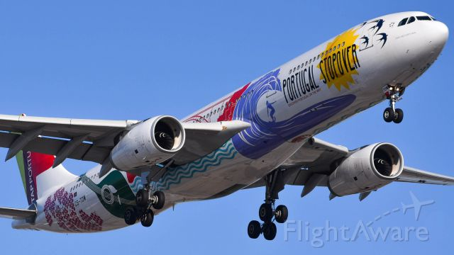 Airbus A330-300 (CS-TOW) - CS-TOW on short final for 22L.
