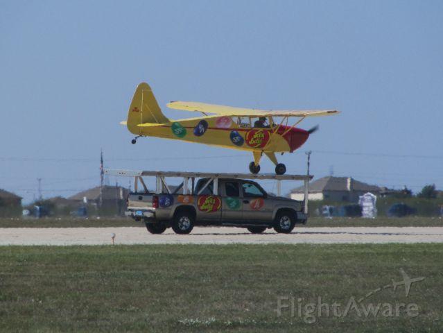 N37428 — - Ken Pietsch performing a cartop landing. Randolph AFB Airshow 2011