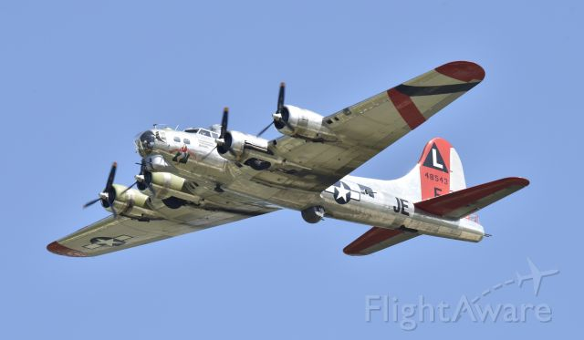 Boeing B-17 Flying Fortress (N3701G) - Demo flight at Airventure 2017