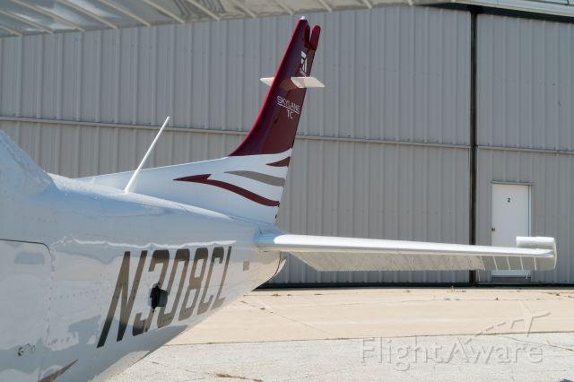CESSNA T182 Turbo Skylane (N308CL) - West Ts ramp