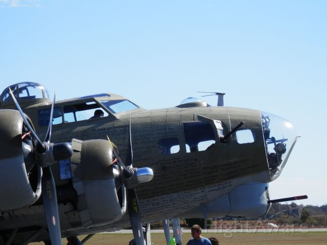 Boeing B-17 Flying Fortress (N93012) - NINE O NINE AT PERRY AIRPORT
