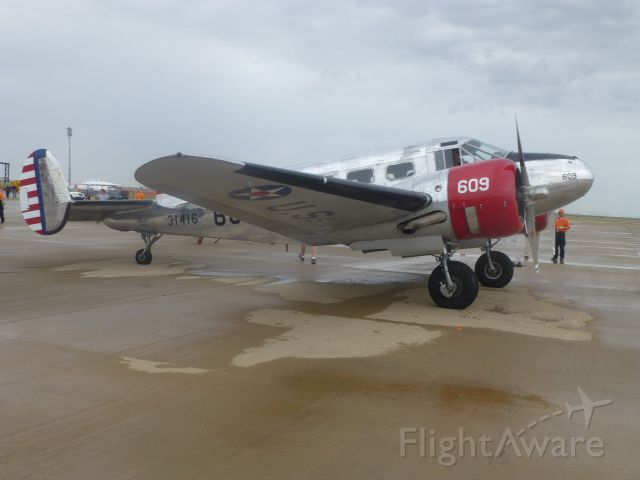 Beechcraft 18 (N71AG)