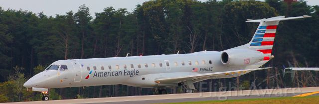 Embraer ERJ-135 (N696AE) - 10/9/15br /BWI to JFKbr /Flight 141
