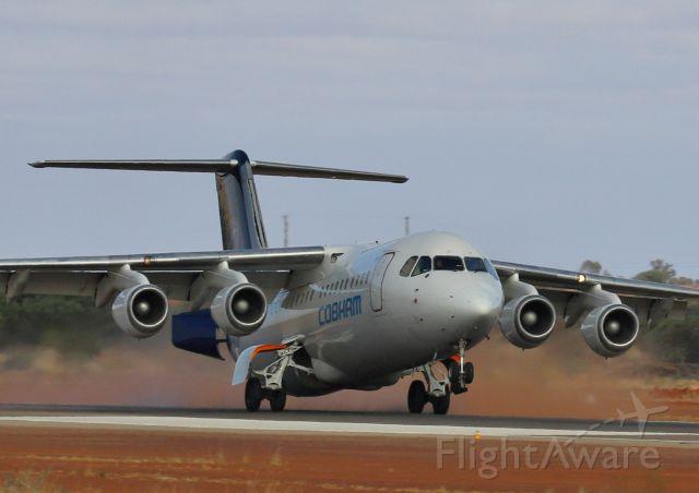 Avro RJ-100 Avroliner (VH-NJP)
