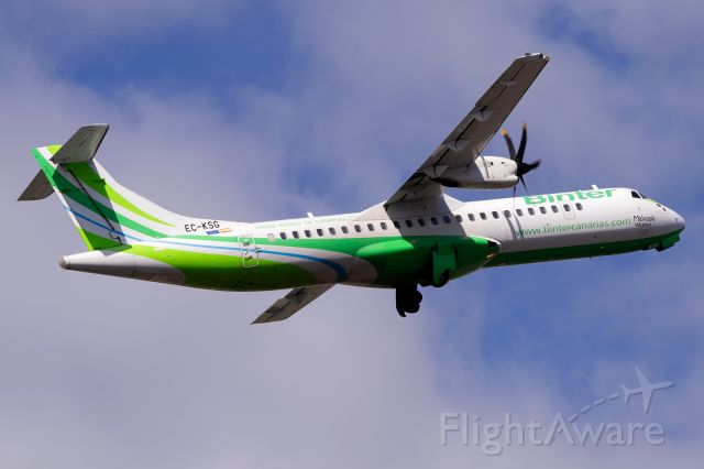 Aerospatiale ATR-72-500 (EC-KSG)