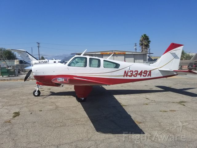 Beechcraft Bonanza (33) (N3349A)